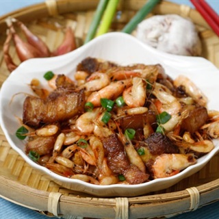 Cách Làm Tôm Đồng Rang Thịt Ba Chỉ Ngon Khó Cưỡng