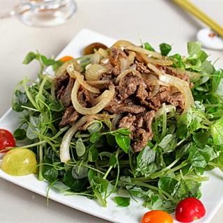 Cách Làm Gỏi Thịt Bò Trộn Rau Càng Cua | Thanh Mát