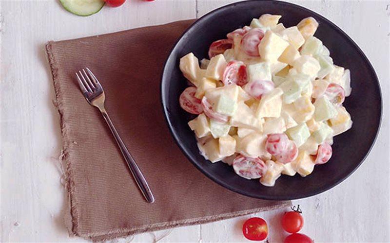 Cách làm Salad Trái Cây Tươi mát lạnh, chống ngán ngày Tết