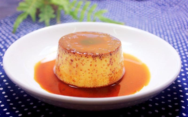 Cách Làm Bánh Flan Cam Phủ Caramel Ngon Miệng