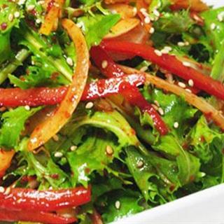 Salad rau diếp xoắn