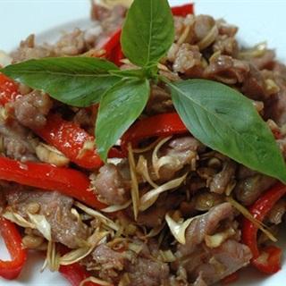 Cách Làm Thịt Dê Xào Sả Ớt | Cay Nồng Ngon Miệng