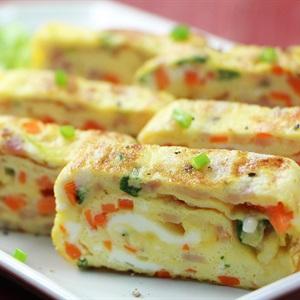 Trứng cuộn kiểu Hàn