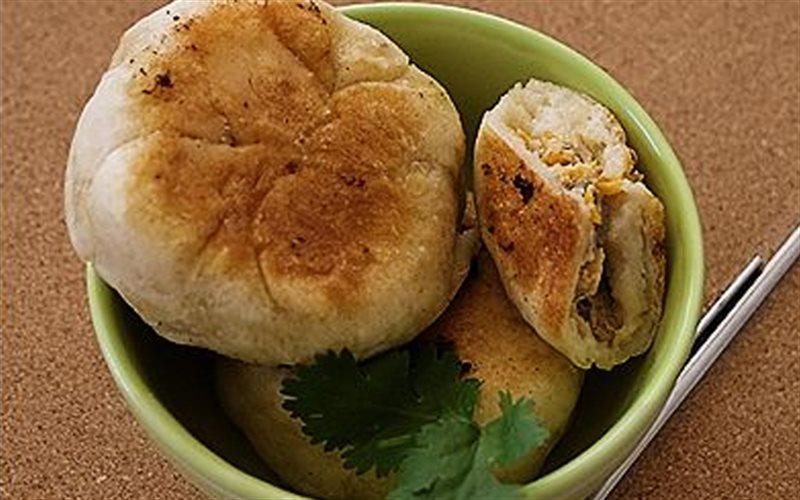 Cách Làm Bánh Nếp Áp Chảo Nhân Thịt Thơm Ngon