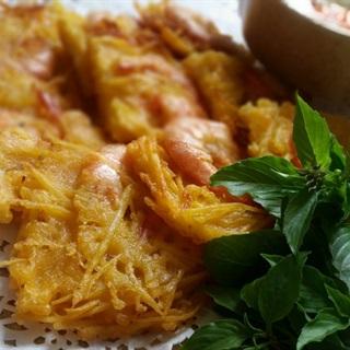 Cách làm bánh tôm Hồ Tây ngon