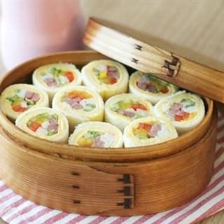 Cách Làm Sushi Bánh Mì Sandwich Ngon, Bắt Mắt