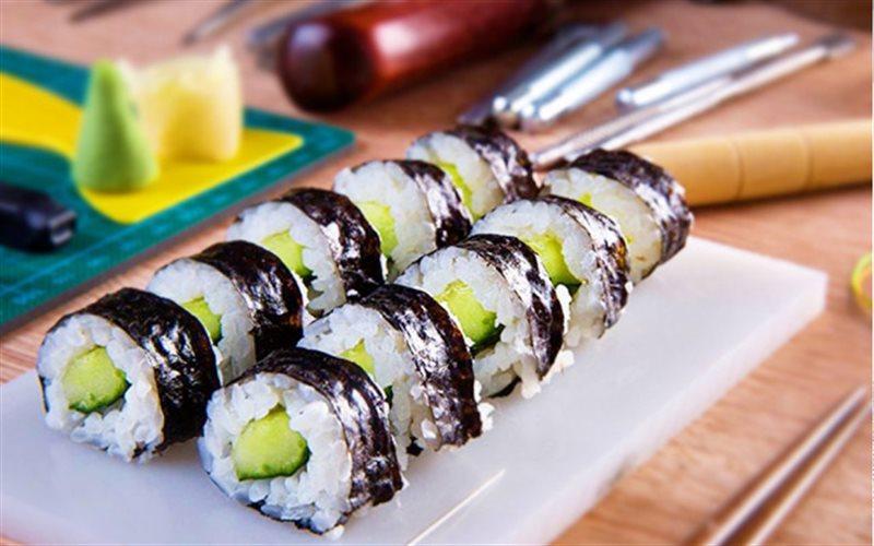Cách Làm Sushi Dưa Leo Ngon Miệng Thanh Mát Mùa Hè