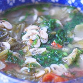 Cách Làm Canh Cải Chua Nấu Tép Giải Ngấy Bữa Cơm