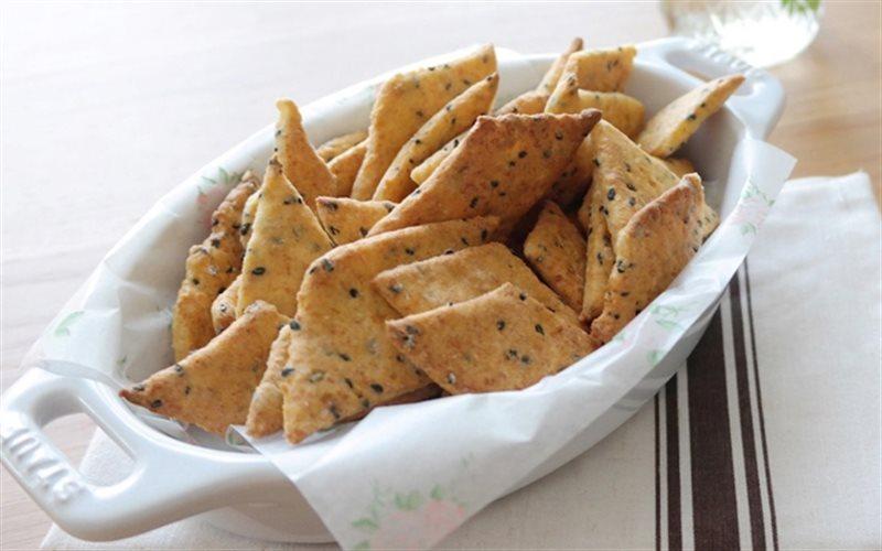 Cách Làm Bánh Quy Đậu Hũ Lạ Miệng, Cực Thơm Ngon