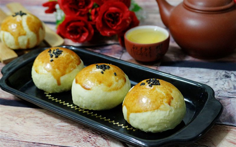 Cách Làm Bánh Trung Thu Trứng Muối Đài Loan Ngon