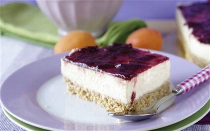 Cách Làm Bánh Cheesecake Dưa Vàng Cherry Cực Ngon