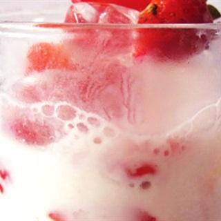 Cách làm yogurt dâu dầm