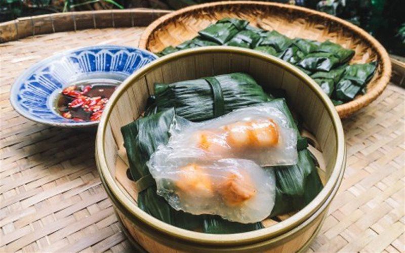 Cách Làm Bánh Bột Lọc Nhân Thịt Tôm | Gói Lá Chuối