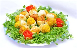 Trứng gà - vịt - cút