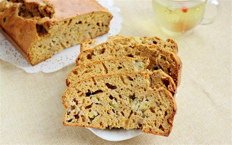 Cách làm Muffin Chuối Đường Nâu thơm ngon, cho bé ăn vặt