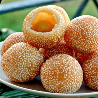 Cách Làm Bánh Cam Đậu Xanh | Đơn Giản, Giòn Tan