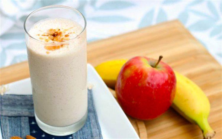 Kết quả hình ảnh cho sinh tố chuối táo