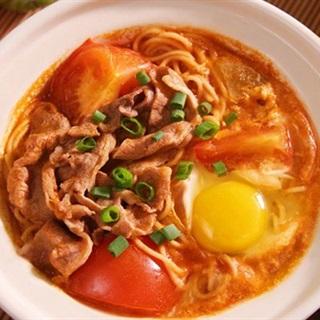 Cách Làm Mì Bò Trứng Dinh Dưỡng, Cho Bữa Sáng