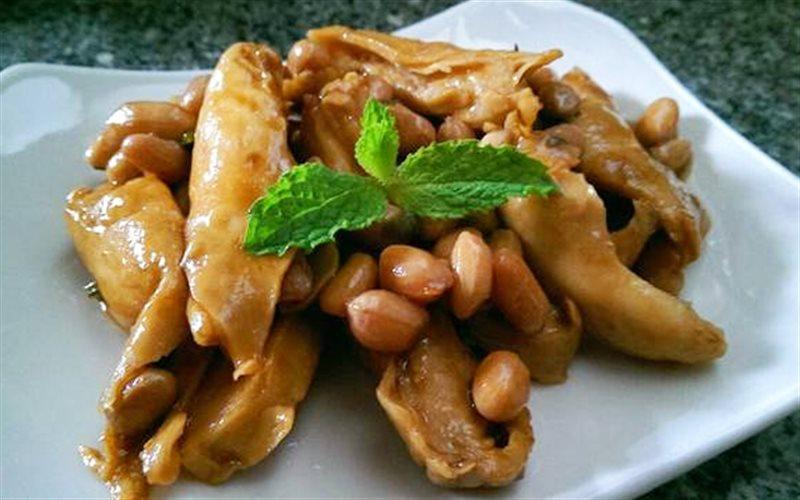 Cách làm Mì Căn Kho Đậu Phộng thơm ngon, cho ngày ăn chay