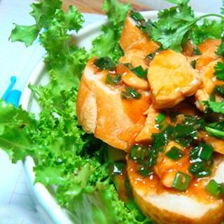 Cách Làm Salad Trộn Bánh Mì Gà Ngon Miệng Đơn Giản
