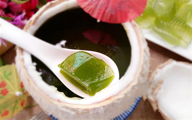 Cách Làm Rau Câu Trái Dừa Trà Xanh Thanh Mát Ở Nhà