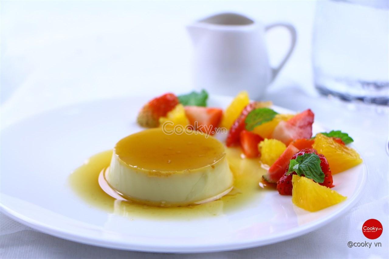 Cách Làm Bánh Flan ngọt mịn sóng sánh cực kì thơm ngon - ảnh 2.