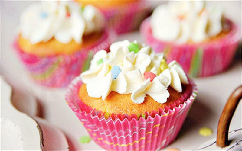 Cách Làm Cupcake Vani Đào Ngon Để Tặng Bạn Bè