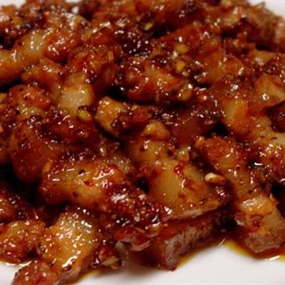 Cách làm Thịt Heo Kho Mắm Ruốc béo mặn đậm đà hương vị