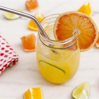 Cách làm nước cam dừa mật ong
