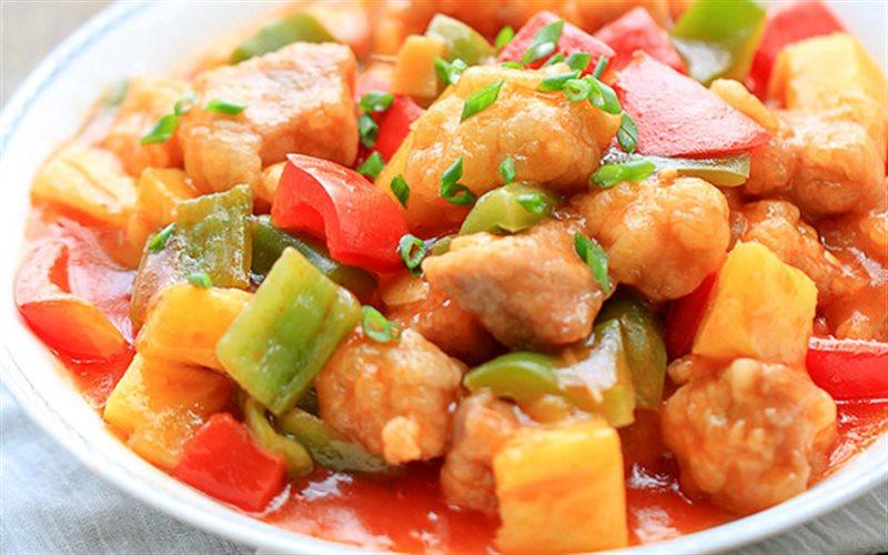 Cách làm Thịt Sốt Chua Ngọt đậm đà, ăn là ghiền ngay