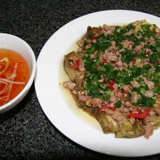 Cách Làm Cà Tím Nướng Thịt Bằm Mỡ Hành Thơm Ngon