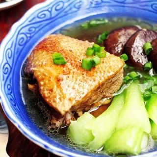 Mì vịt tiềm người Hoa