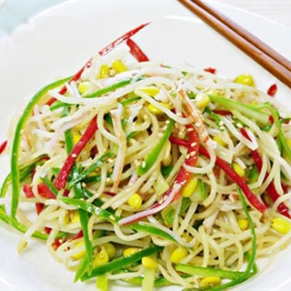 Salad giá đỗ thanh cua