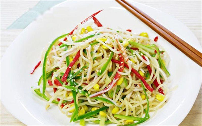 Cách Làm Salad Giá Đỗ Thanh Cua Ăn Kiêng Tại Nhà