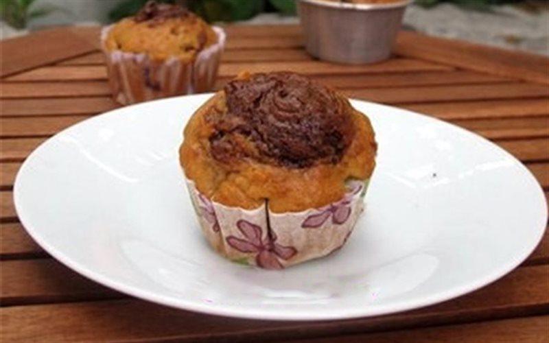 Cách Làm Muffin Chuối Nutella Ngon Miệng Hấp Dẫn