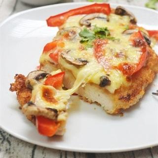 Cách Làm Bánh Pizza Thịt Gà Siêu Ngon Đơn Giản