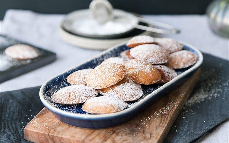 Cách làm bánh madeleines vị mật ong