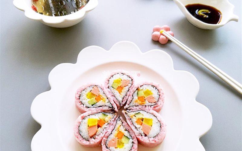 Cách Làm Sushi Hoa Anh Hấp Dẫn Ngon Miệng Cả Nhà
