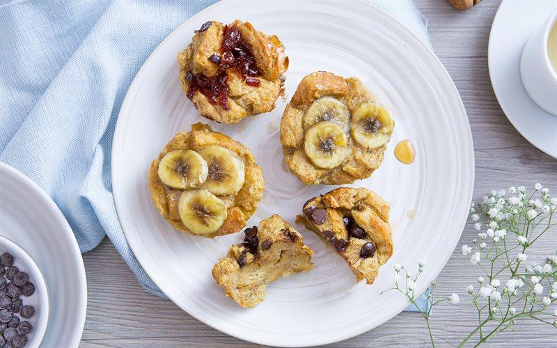 Cách Làm Muffin Chuối Nướng Đơn Giản Cho Bé Ăn Vặt