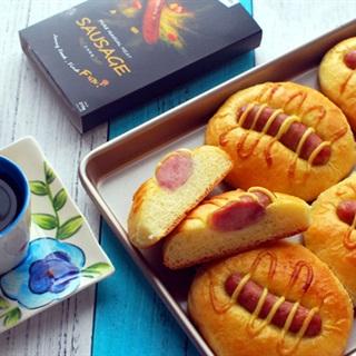 Cách Làm Bánh Mì Cuộn Xúc Xích Nướng Đơn Giản