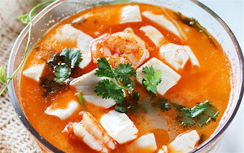 Cách nấu Canh Đậu Hũ tôm tươi bổ dưỡng, tốt cho sức khỏe