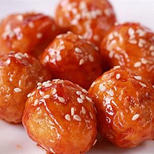 Trứng cút sốt chua cay