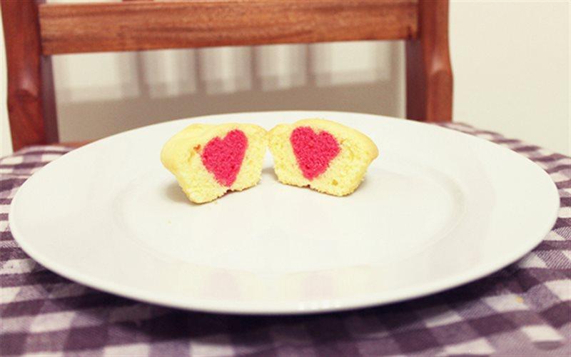 Cách Làm Cupcake Nhân Trái Tim Cho Ngày Valentine