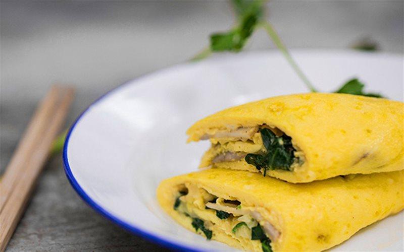 Cách Làm Trứng Gà Chiên Nấm Mỡ Đổi Vị Cho Bữa Cơm