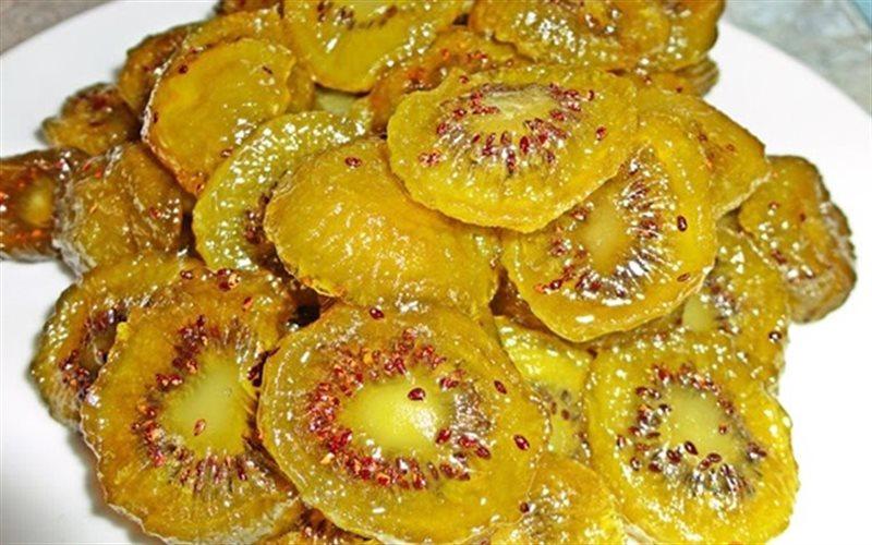 Cách làm Mứt Kiwi chua ngọt, thơm ngon dùng để ăn vặt