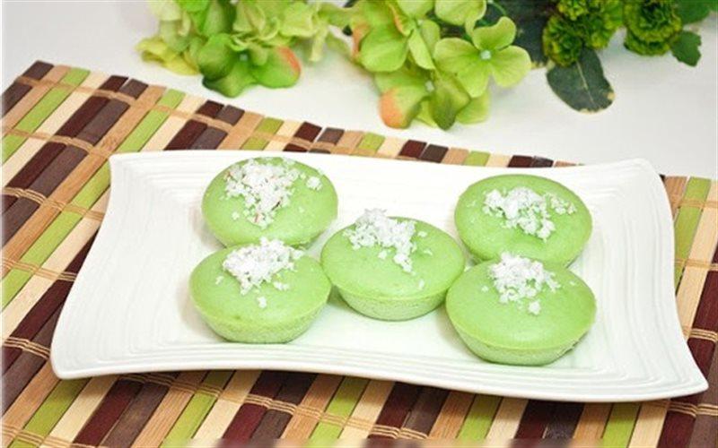 Cách Làm Bánh Cupcake Lá Dứa Thơm Lừng Ngon Miệng