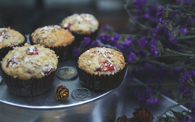 Cách Làm Bánh Muffin Dâu Tây Thơm Ngon Mời Cả Nhà