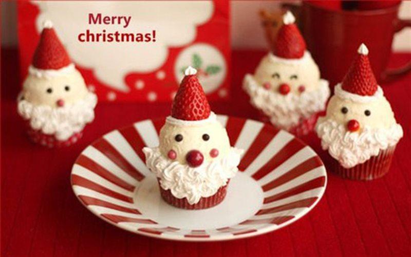 Cách Làm Cupcake Hình Ông Già Noel Ngon, Đẹp Mắt