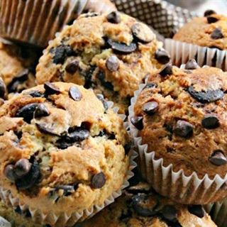 Cách làm Bánh chocolate chip muffins