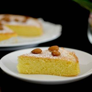 Cách làm bánh Gateau hạnh nhân
